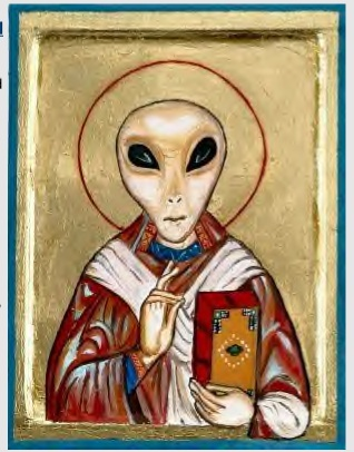 alien-priest painting 1400 AD | ANCIENT ARCHIVES